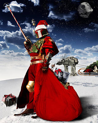 Manipulation Photograph - Boba Claus by Cory Mcburnett