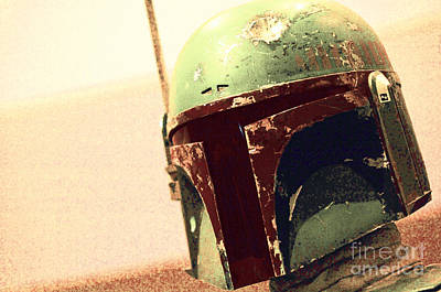 Screen Used Photograph - Boba Fett Costume 38 by Micah May