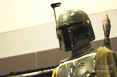 Screen Used Photograph - Boba Fett Costume 42 by Micah May