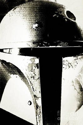 Boba Fett Helmet 22 Art Print by Micah May