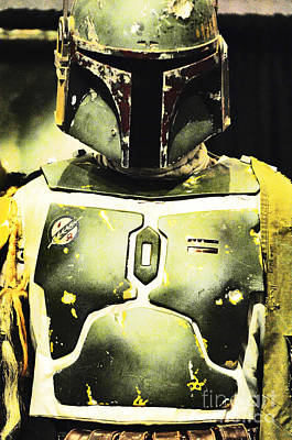 Screen Used Photograph - Boba Fett Helmet 31 by Micah May