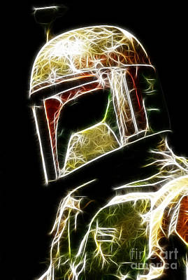 Boba Photograph - Boba Fett by Paul Ward
