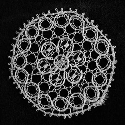 Photograph - Bobbin Lace Design 004 by George Bostian