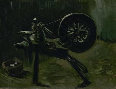 Painting - Bobbin Winder Nuenen March  April 1885 Vincent Van Gogh 1853  1890 by Artistic Panda