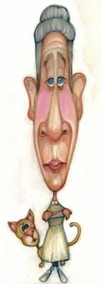 Bobblehead No 64 Art Print
