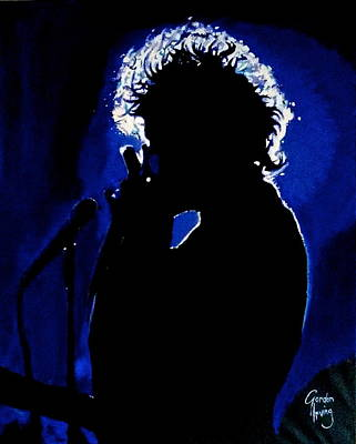 Bob Dylan Painting - Bobby Blue by Gordon Irving