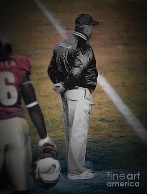Bobby Bowden Head Coach Fsu Art Print by Paul Wilford