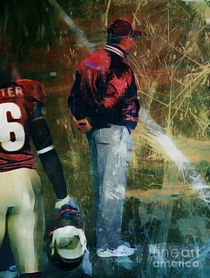 Bobby Bowden Art Print by Paul Wilford