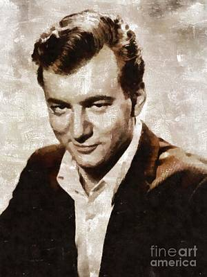 Music Royalty-Free and Rights-Managed Images - Bobby Darin, Music Legend by Mary Bassett by Esoterica Art Agency