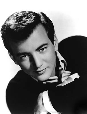 1950s Portraits Photograph - Bobby Darin, Portrait Ca. 1950s by Everett