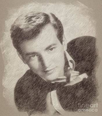 Singer Drawing - Bobby Darin, Singer by Frank Falcon