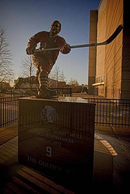 Art Of Hockey Photograph - Bobby Hull Sculpture by Sven Brogren
