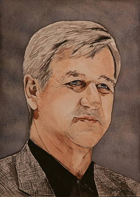 Bobby Orr Art Print by Betty-Anne McDonald