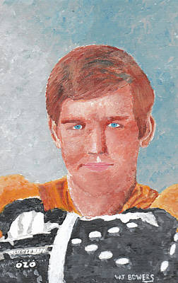 Bobby Orr Painting - Bobby Orr by William Bowers