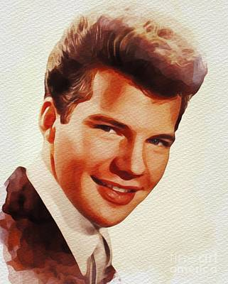 Rock And Roll Royalty-Free and Rights-Managed Images - Bobby Vee, Music Legend by John Springfield