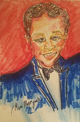 Drawings Royalty Free Images - Bobby Vinton Royalty-Free Image by Geraldine Myszenski