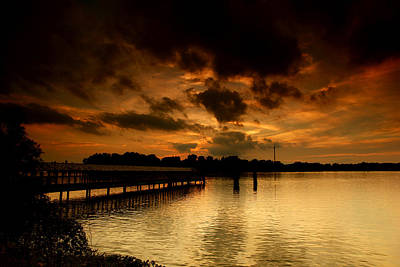 Canada Photograph - Boblo Dock by Cale Best