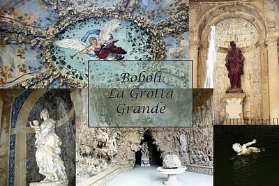 Boboli La Grotta Grande 2 Art Print
