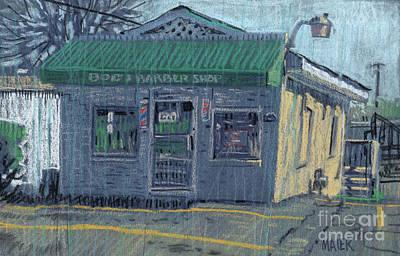 Bob's Barber Shop Original by Donald Maier