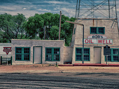 Photograph - Bob's Oil Well 2 by Charles McKelroy