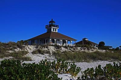 Photograph - Boca Grande Lighthouse Iv by Michiale Schneider