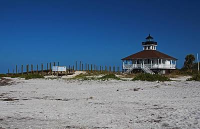 Photograph - Boca Grande Lighthouse Ix by Michiale Schneider