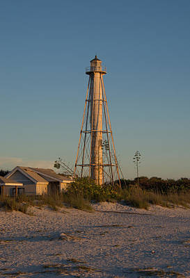 Photograph - Boca Grande Lighthouse - Rear Range by John Black