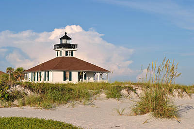Photograph - Boca Grande Lighthouse by Steven Scott