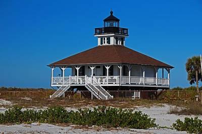 Photograph - Boca Grande Lighthouse Vi by Michiale Schneider
