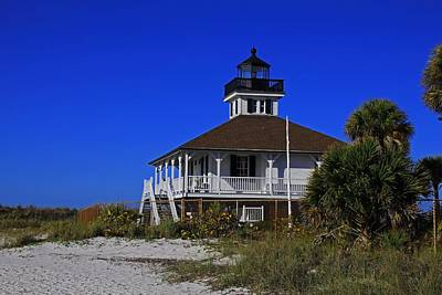 Photograph - Boca Grande Lighthouse Vii by Michiale Schneider