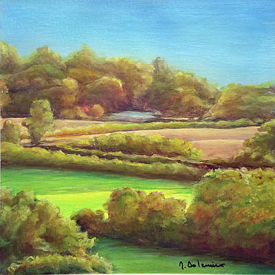 Painting - Bocage by Muriel Dolemieux