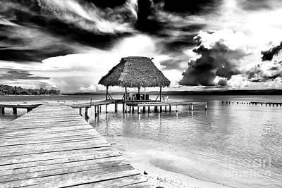 Photograph - Bocas Del Drago Clouds In Panama by John Rizzuto