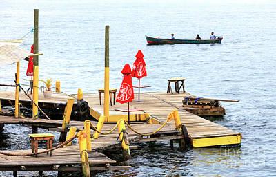 Photograph - Bocas Town Dock by John Rizzuto