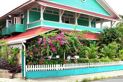 Photograph - Bocas Town Living In Bocas Del Toro by John Rizzuto
