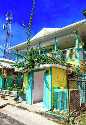 Photograph - Bocas Town Style At Bocas Del Toro Panama by John Rizzuto