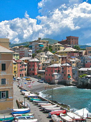 Photograph - Boccadasse 2-genova, Italy by Italian Art