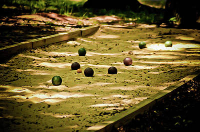 Photograph - Bocce by Daniel Houghton