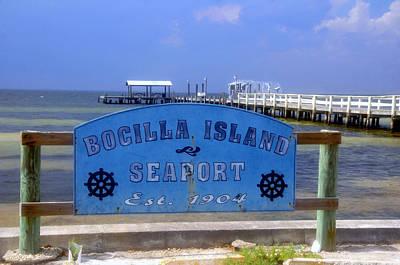 Photograph - Boccilla Island Seaport 1904 by David Lee Thompson