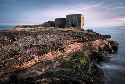 Photograph - Boddin Point Lime Kilns by Dave Bowman