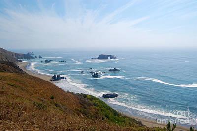Photograph - Bodega Bay Arched Rock by Debra Thompson