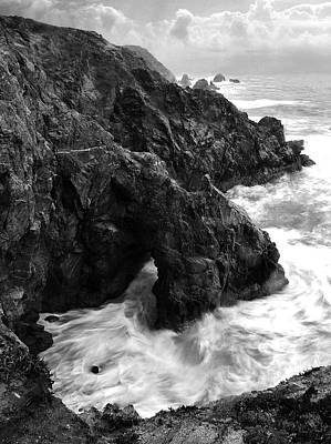 Photograph - Bodega Bay Cliffs In A Storm by Eleanor Caputo