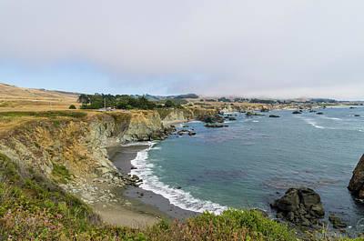Keith Richards - Bodega Bay Coastline 4 by Bob Corson