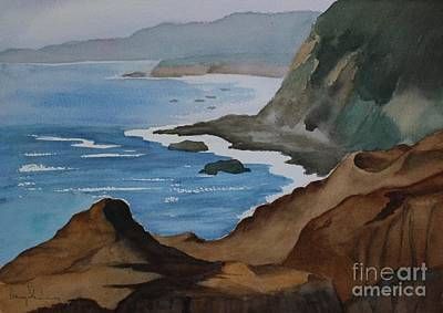 Painting - Bodega Bay by Penny Stroening