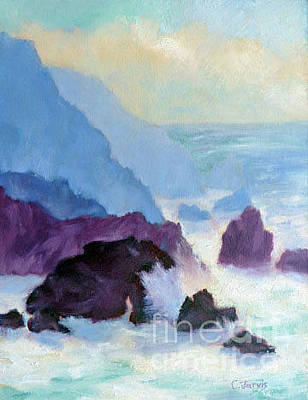 Painting - Bodega Head by Carolyn Jarvis