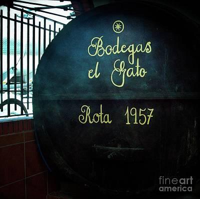 Photograph - Bodegas El Gato De Rota by Lilliana Mendez