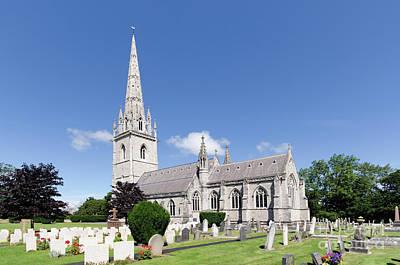 Photograph - Bodelwyddan Church by Steev Stamford