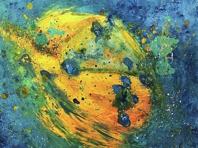 Bodhisattva Art Print by Christine Cibula