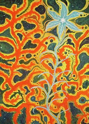 Bodhi Shunyata Art Print by Scott Harrington