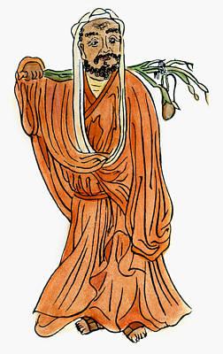 Photograph - Bodhidharma (fl. 520 A.d.) by Granger