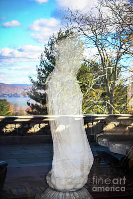 Photograph - Bodhisattva At Kykuit by Colleen Kammerer